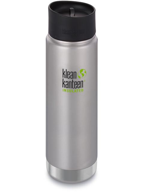 Klean Kanteen Wide Vacuum Insulated - Recipientes para bebidas - Café Cap 2.0 592ml Plateado